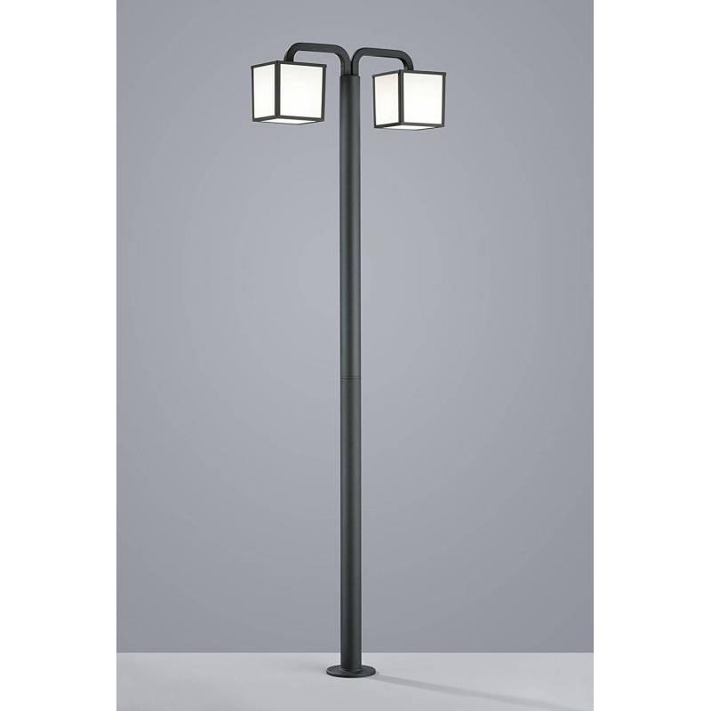 TRIO Cubango pole lamp 2L E27 LED 6w
