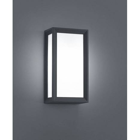 Aplique de pared Timok E27 LED 6w antracita - Trio