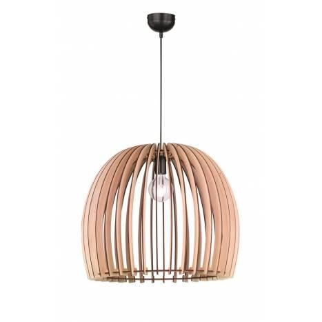 Lámpara colgante Wood 1L E27 60cm - Trio