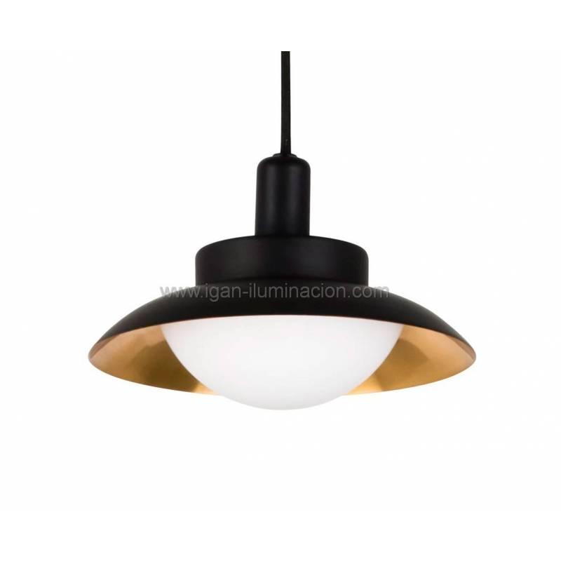 Faro side pendant lamp 1 light black copper aloadofball Images