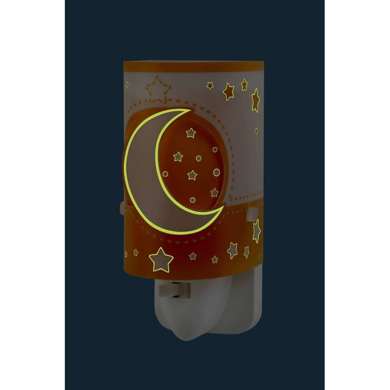 Dalber Moon Light Wall Night Light Led Orange