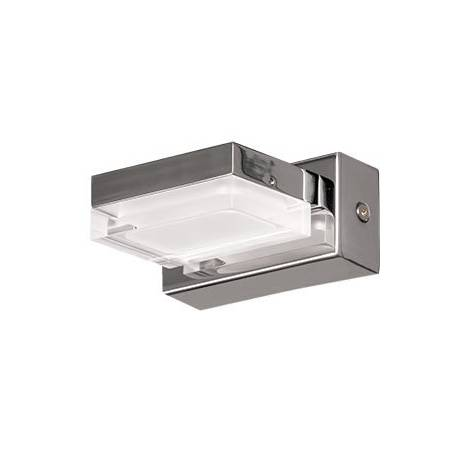 Aplique de pared Fory LED 1 luz 3w cromo de Daviu