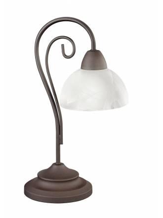 Lámpara de mesa Country 1L E14 óxido - Trio