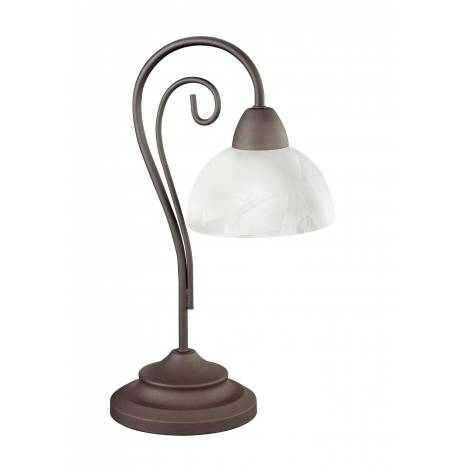 TRIO Country table lamp 1L rusty