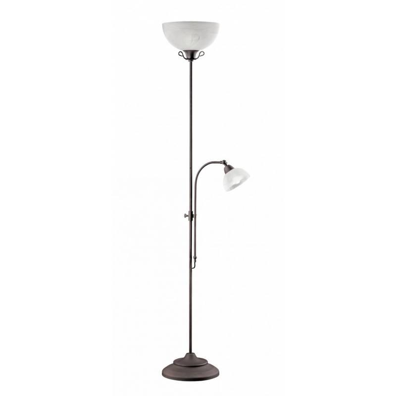 TRIO Country floor lamp 2L rusty
