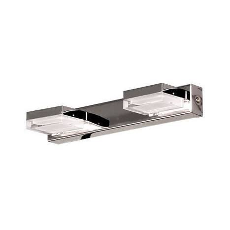 Aplique de pared Fory LED 2 luces cromo de Daviu