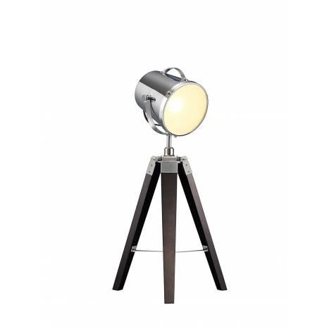 Lámpara de mesa Antwerp 1L madera - Trio