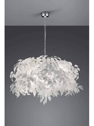 TRIO Leavy pendant lamp 70cm 1L