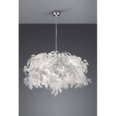 Trio Leavy Pendant Lamp 70cm 4l