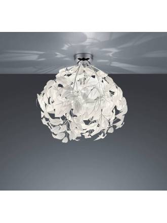 TRIO Leavy ceiling lamp 38cm 1L