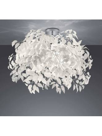 TRIO Leavy ceiling lamp 70cm 3L
