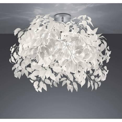 Lámpara de techo Leavy 70cm 3L E14 - Trio