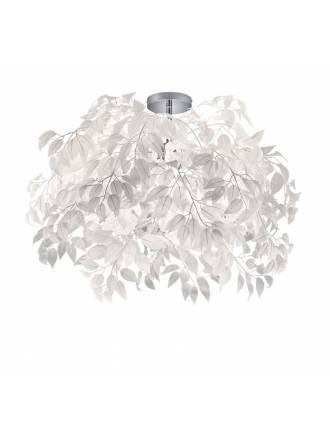 TRIO Leavy ceiling lamp 70cm 3L
