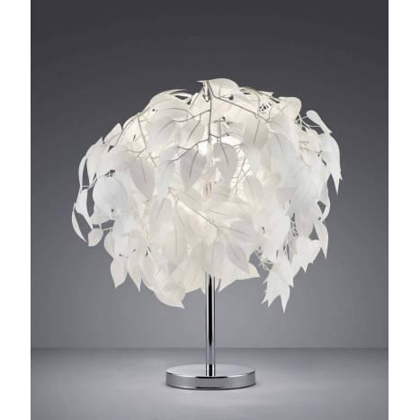 TRIO Leavy table lamp 45cm 1L