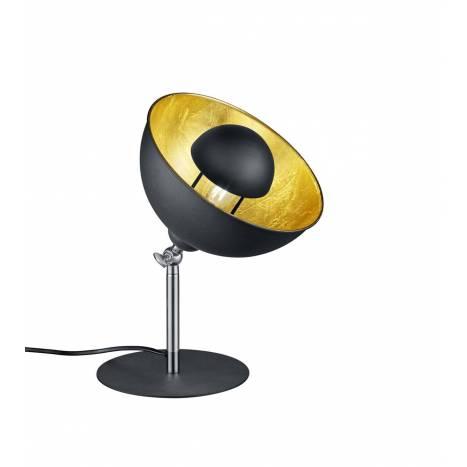 Lámpara de mesa Liège 1L E14 negro - Trio