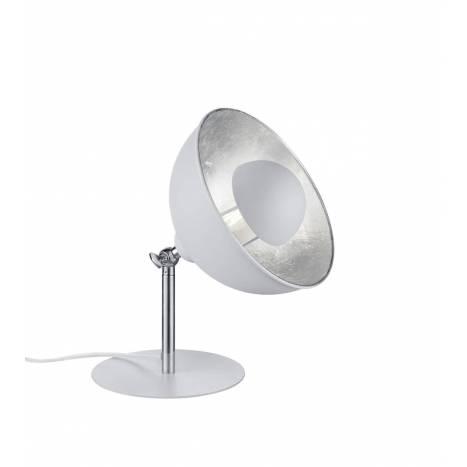 TRIO Liège table lamp 1L E14 white