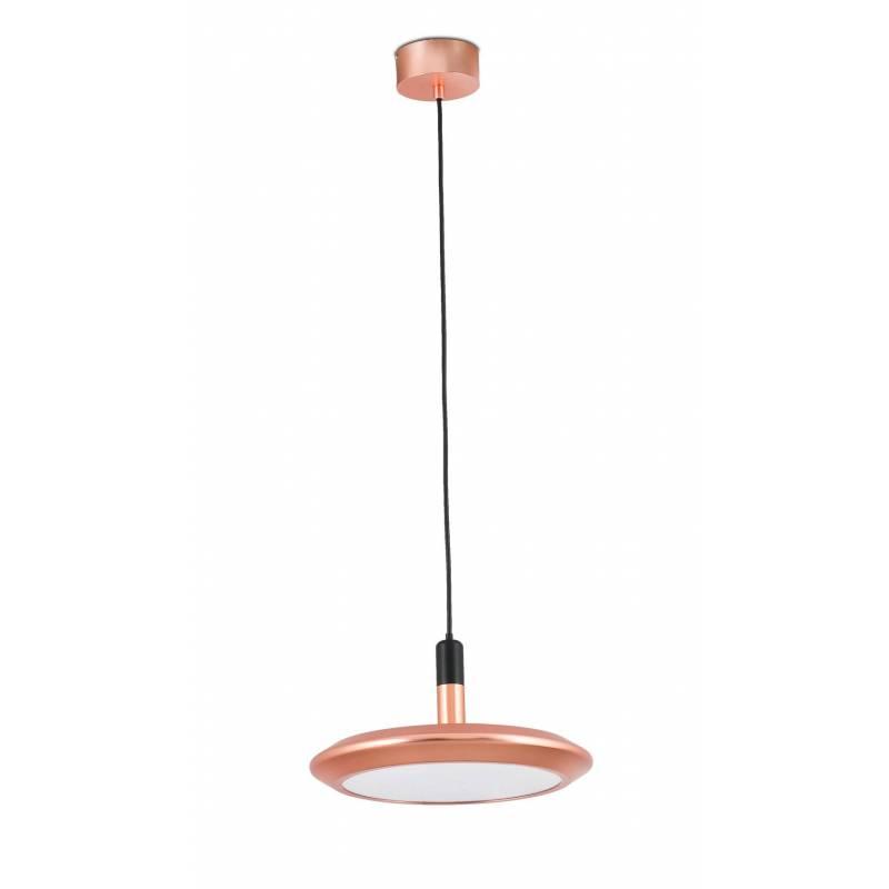 Lámpara colgante Planet LED 12w cobre - Faro