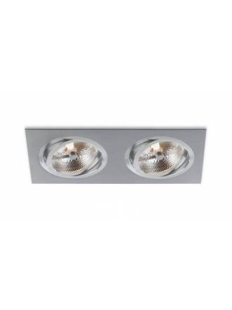 BPM Catli 2L AR111 recessed light aluminium