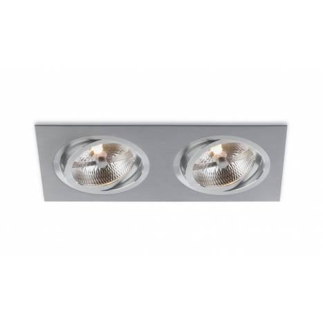 BPM Catli 2L AR111 recessed light aluminium
