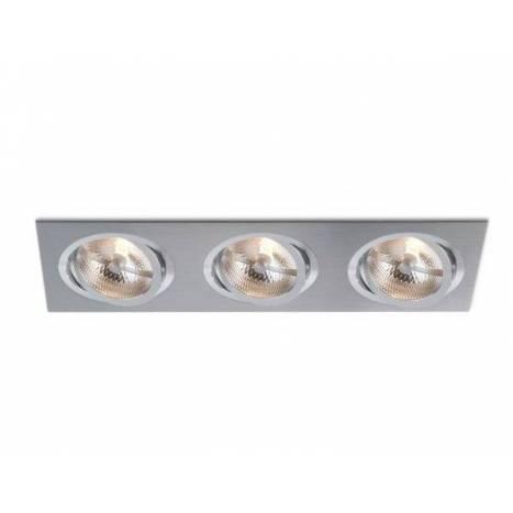 Foco empotrable Catli 3L AR111 aluminio - Bpm