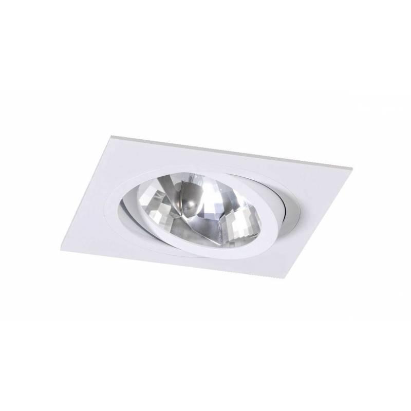 Bpm Catli 1l Gu10 Ar111 Recessed Light White