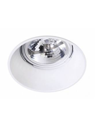 BPM Koni 1L AR111 recessed light white