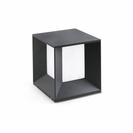 Sobremuro Mila LED 18w gris oscuro - Faro
