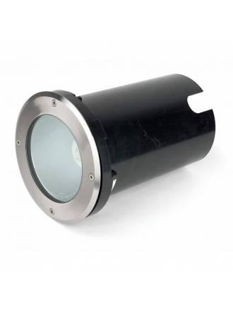 FARO Tecno-1 E27 recessed lamp inox