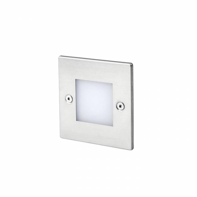 FARO Frol LED 0.8w recessed lamp inox