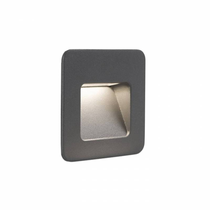 Empotrable pared nase led 3w ip44 faro for Focos empotrables exterior
