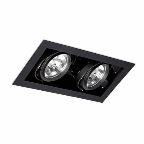 FARO Gingko 2L AR111 recessed light black