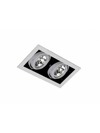 FARO Gingko 2L AR111 recessed light grey