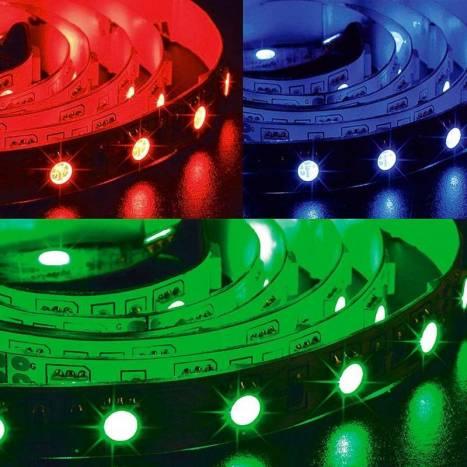 MASLIGHTING RGB LED strip 5mts 12w 60 LEDS/M 24VDC IP20