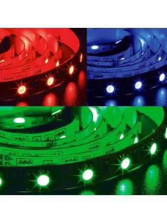 Tira LED RGB 5mts 12w 60 LEDS/M 24VDC IP65 - Maslighting