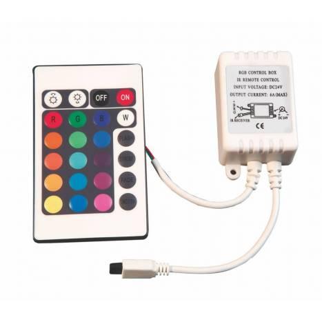 Controlador + Mando RGB LED 24v - Maslighting