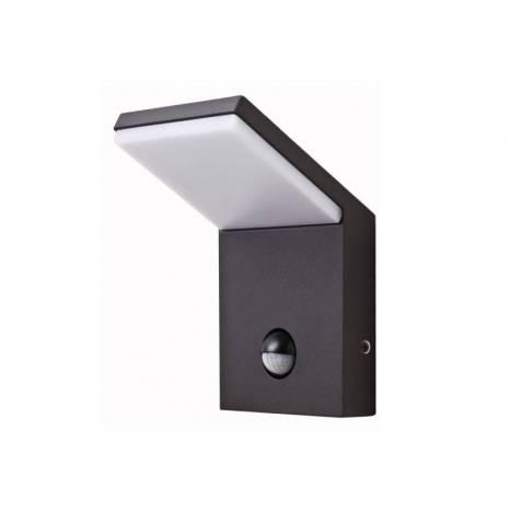 Aplique de pared Neo LED 9w Sensor negro - Beneito Faure