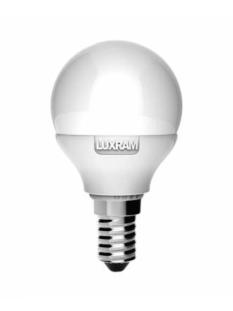 LUXRAM LED E14 bulb 6.5w spherical