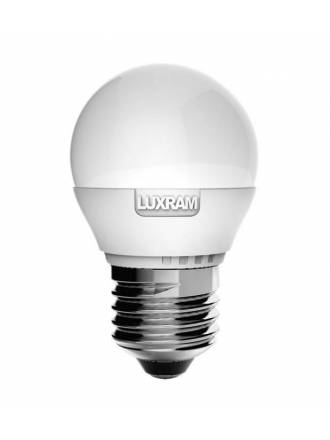 LUXRAM LED E27 bulb 6.5w spherical