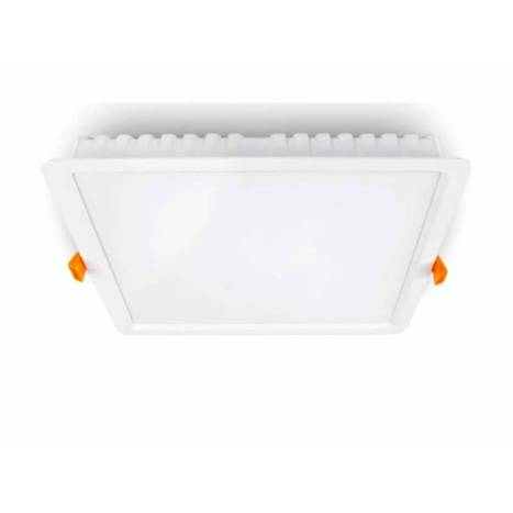 Downlight LED 32w cuadrado blanco de Kimera