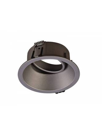 MANTRA Comfort round recessed light silver