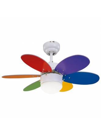 SULION Rainbow Colour 1L ceiling fan