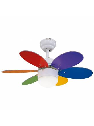 Ventilador de techo Rainbow Colour 1L - Sulion
