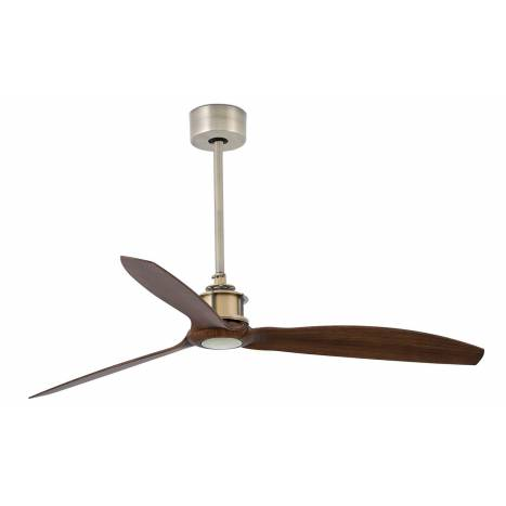FARO Just Fan ceiling fan DC antique brass