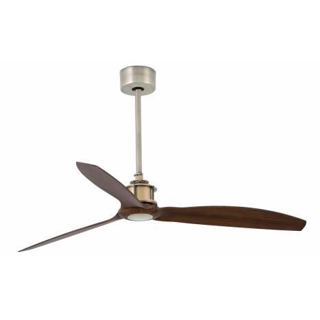 Ventilador de techo Just Fan DC oro envejecido - Faro