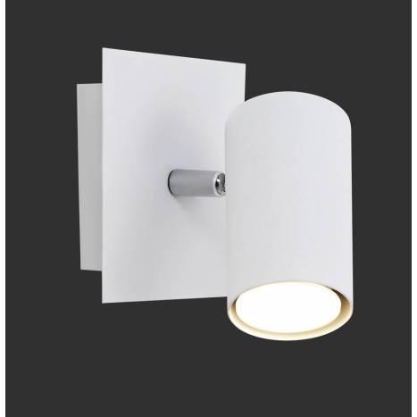 TRIO Marley wall lamp 1L GU10 white
