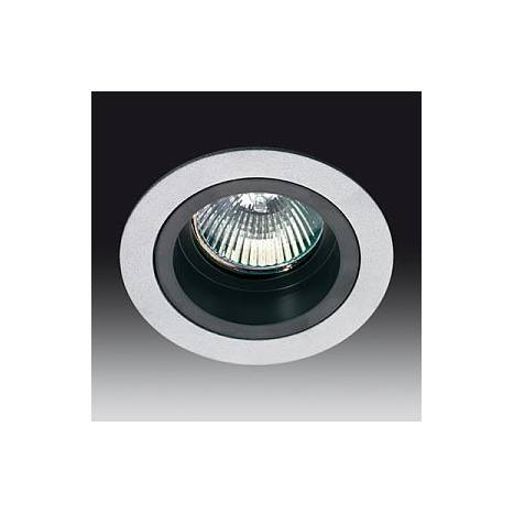 Onok 181 Round Recessed Light Grey And Black