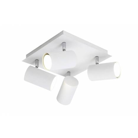 TRIO Tub spotlight 4L LED aluminium white