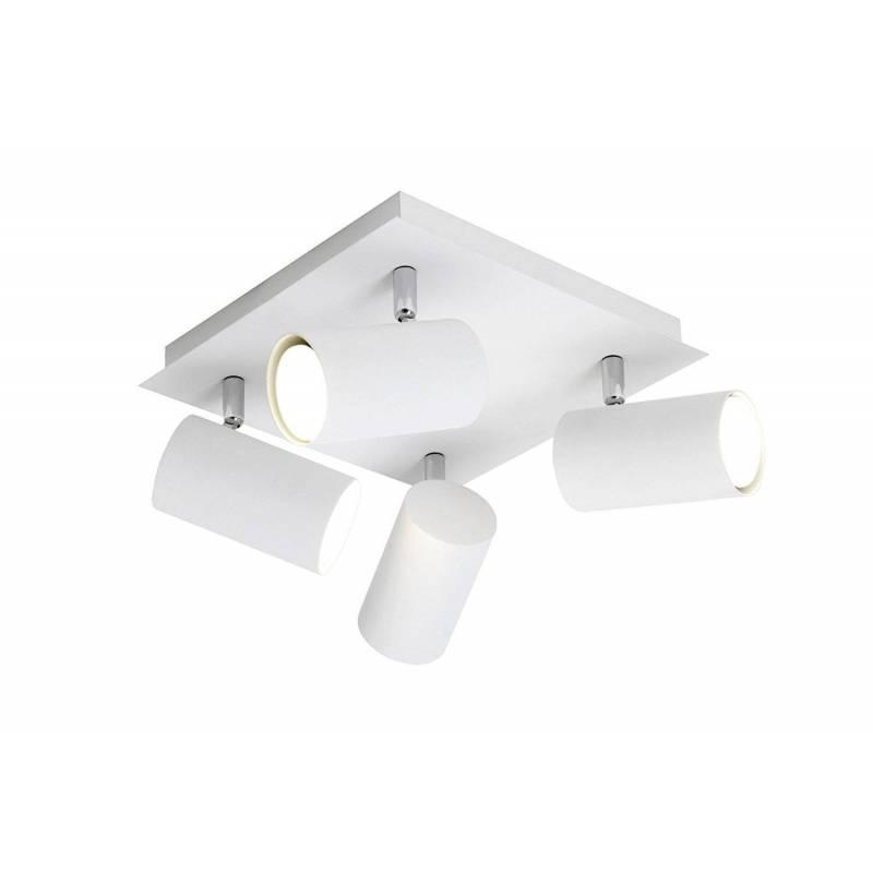 TRIO Tub spotlight 4L LED aluminium white