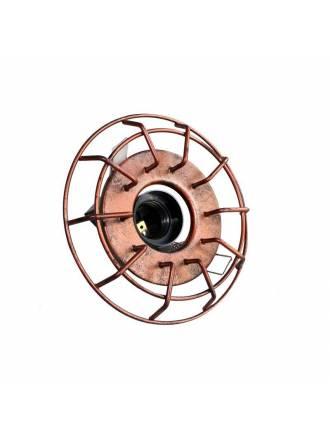 Foco empotrable Timón Vintage E27 bronce - Cristalrecord