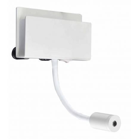 Aplique de pared Cabaret LED blanco - Mantra
